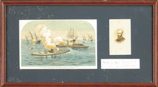 Autographs: REAR ADMIRAL JOHN L. WORDEN - SIGNATURE(S)