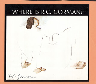 R. C. GORMAN - ILLUSTRATION SIGNED