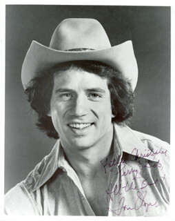 TOM WOPAT - AUTOGRAPHED INSCRIBED PHOTOGRAPH