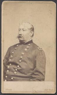 Autographs: MAJOR GENERAL WILLIAM H. FRENCH - PHOTOGRAPH UNSIGNED
