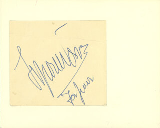 TYRONE POWER - INSCRIBED SIGNATURE