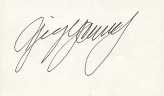 GIG YOUNG - AUTOGRAPH