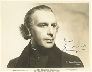 SIR CEDRIC HARDWICKE - AUTOGRAPHED SIGNED PHOTOGRAPH 1947