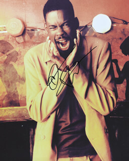 CHRIS ROCK - AUTOGRAPHED SIGNED PHOTOGRAPH
