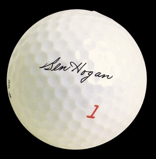Autographs: BEN HOGAN - ILLUSTRATION SIGNED