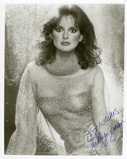 JACKLYN ZEMAN - AUTOGRAPHED SIGNED PHOTOGRAPH