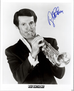 GLENN MILLER BAND (RAY ANTHONY) - AUTOGRAPHED SIGNED PHOTOGRAPH