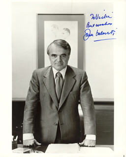 JACK VALENTI - AUTOGRAPHED INSCRIBED PHOTOGRAPH