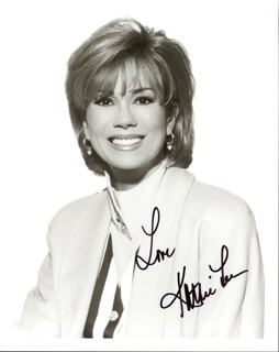 KATHIE LEE GIFFORD - AUTOGRAPHED SIGNED PHOTOGRAPH