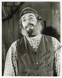 HARRY G. GOZ - AUTOGRAPHED INSCRIBED PHOTOGRAPH