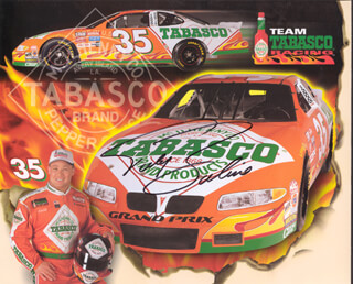Autographs: TODD BODINE - PRINTED PHOTOGRAPH SIGNED IN INK