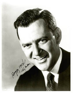 TONY RANDALL - AUTOGRAPHED SIGNED PHOTOGRAPH 1959