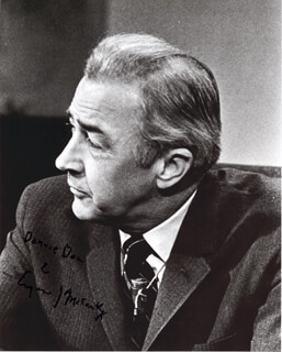 EUGENE J. MCCARTHY - AUTOGRAPHED SIGNED PHOTOGRAPH