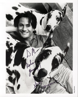 GREG LOUGANIS - AUTOGRAPHED INSCRIBED PHOTOGRAPH