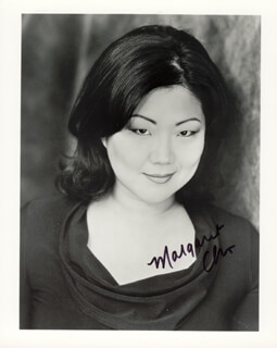 MARGARET CHO - AUTOGRAPHED SIGNED PHOTOGRAPH