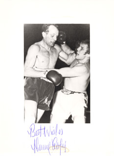 HENRY COOPER - AUTOGRAPHED SIGNED PHOTOGRAPH