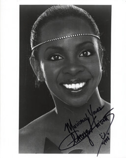 GLADYS KNIGHT - AUTOGRAPHED SIGNED PHOTOGRAPH 11/1998