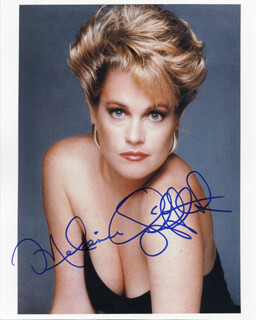 MELANIE GRIFFITH - AUTOGRAPHED SIGNED PHOTOGRAPH
