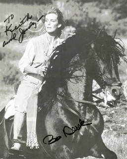 BO DEREK - AUTOGRAPHED INSCRIBED PHOTOGRAPH