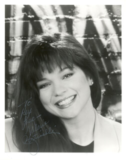 VALERIE BERTINELLI - AUTOGRAPHED INSCRIBED PHOTOGRAPH