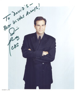 JIM NANTZ - AUTOGRAPHED INSCRIBED PHOTOGRAPH