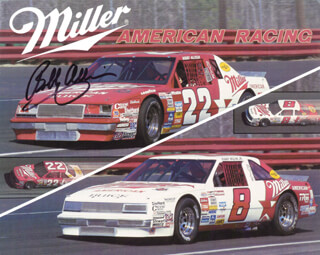 BOBBY ALLISON - AUTOGRAPHED SIGNED PHOTOGRAPH