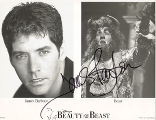 JAMES BARBOUR - AUTOGRAPHED SIGNED PHOTOGRAPH