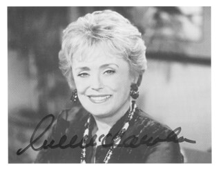RUE McCLANAHAN - AUTOGRAPHED SIGNED PHOTOGRAPH