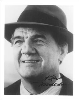 KARL MALDEN - AUTOGRAPHED SIGNED PHOTOGRAPH