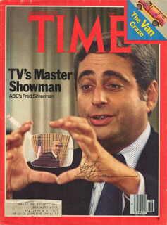 Autographs: FRED SILVERMAN - MAGAZINE SIGNED