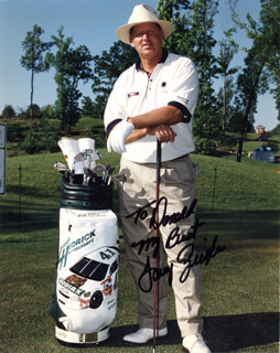LARRY ZIEGLER - AUTOGRAPHED INSCRIBED PHOTOGRAPH