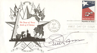 Autographs: BILL WHISPERING BILL ANDERSON - FIRST DAY COVER SIGNED