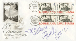 BUCK OWENS - INSCRIBED FIRST DAY COVER SIGNED