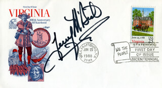 MCBRIDE AND THE RIDE (TERRY MCBRIDE) - FIRST DAY COVER SIGNED