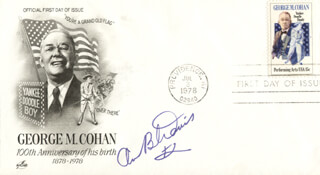 ANN B. DAVIS - FIRST DAY COVER SIGNED