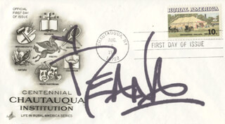 DEANA CARTER - FIRST DAY COVER SIGNED