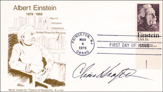 CHRIS KRAFT - FIRST DAY COVER SIGNED