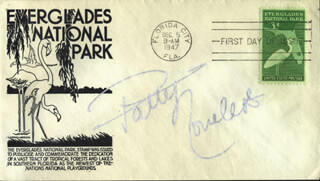 PATTY LOVELESS - FIRST DAY COVER SIGNED