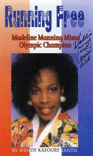 Autographs: MADELINE MANNING MIMS - PAMPHLET SIGNED