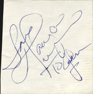 TANYA TUCKER - AUTOGRAPH NOTE SIGNED