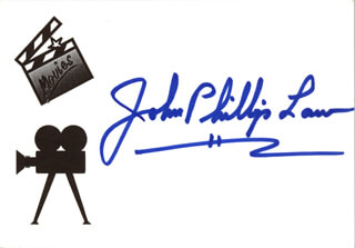 JOHN PHILLIP LAW - AUTOGRAPH
