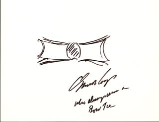 Autographs: GENERAL C. EVERETT KOOP - ORIGINAL ART SIGNED