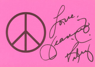 JEANNIE C. RILEY - AUTOGRAPH SENTIMENT SIGNED