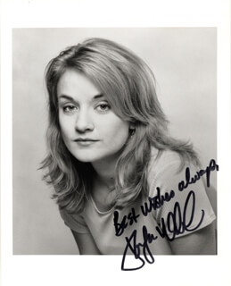 JENNIFER WOODWARD - AUTOGRAPHED SIGNED PHOTOGRAPH