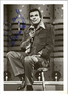 PETER MARSHALL - AUTOGRAPHED SIGNED PHOTOGRAPH