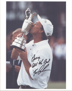 TOM LEHMAN - AUTOGRAPHED INSCRIBED PHOTOGRAPH