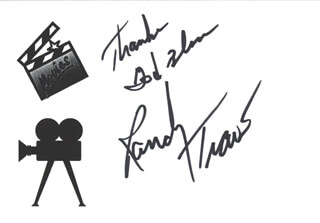 RANDY TRAVIS - AUTOGRAPH SENTIMENT SIGNED