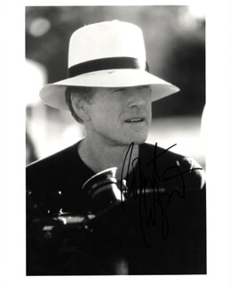 ROBERT REDFORD - AUTOGRAPHED SIGNED PHOTOGRAPH