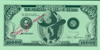 LARRY HAGMAN - EPHEMERA SIGNED