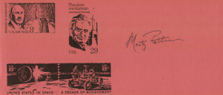 Autographs: MARTY FETTMAN - PRINTED CARD SIGNED IN INK